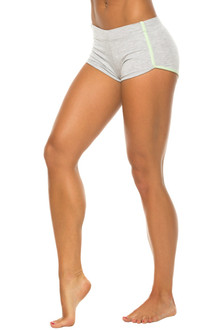 Retro Shorts - Stretch Cotton w/ Supplex Piping