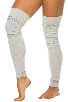 Stretch Cotton Leg Warmers