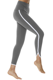 Rolldown St. Tropez 7/8 Length Leggings - Supplex