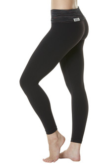 Stripe Print Rolldown Leggings - Final Sale - Medium (1 Available)