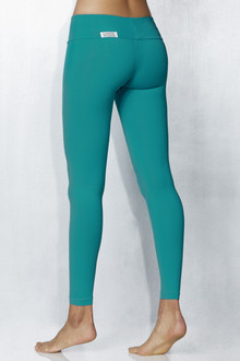 Teal Sport Band Leggings - FINAL SALE