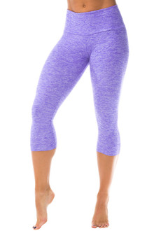 Butter VIOLET High Waist 3/4 Leggings - FINAL SALE-SMALL  (1 AVAILABLE)