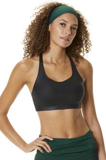 WET Front Mesh Back Mountain Bra