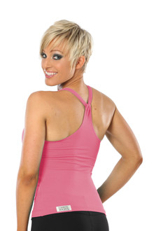 Lux Top - COTTON - FINAL SALE - PINK - MEDIUM (1 AVAILABLE)