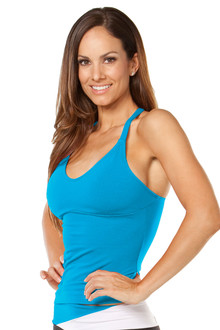 RACER DOLL TOP - COTTON - TURQUOISE - FINAL SALE - SMALL (2 AVAILABLE)