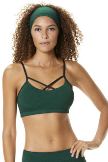 Double Weight Butter Hana Bra w/ Wet Fabric Trim