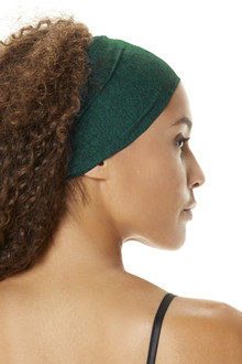 Double Weight Butter Wide Tied Back Headband