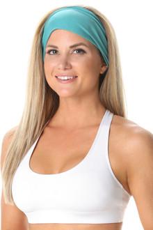 Butter Wide Tied Back Headband