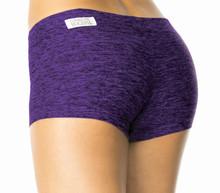 "Butter Buti Lowrise Mini Shorts - FINAL SALE - PURPLE - SMALL- 2.75"" (1 AVAILABLE)"