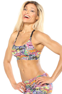 Alicia Marie - Graffiti Diva Bra - FINAL SALE - S (1 Available)