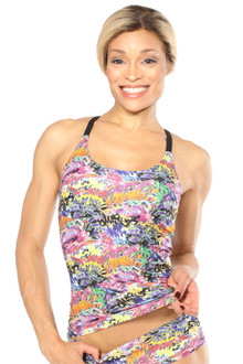 Alicia Marie - Graffiti Diva Long Top=FINAL SALE-SMALL (1 AVAILABLE)