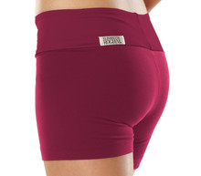 "Sport Band Shorts - BURGANDY- FINAL SALE - MEDIUM - 2."" INSEAM (1 AVAILABLE)"