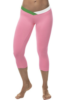 JNL - BUMBLEBEE 3/4 Leggings - FINAL SALE - PINK - SMALL (1 AVAILABLE)