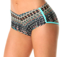 Retro Shorts - Native Print