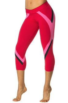 Mini Band Win 3/4 Leggings - Supplex- FINAL SALE -SMALL (1 AVAILABLE)