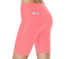 High Waist Cobra Shorts - Supplex
