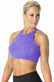 Butter Olympic Bra - FINAL SALE - VIOLET - LARGE (1 AVAILABLE)