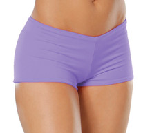"Lowrise Double Layer Boy Shorts - FINAL SALE - LILAC - SMALL - 1.75"" INSEAM (1 AVAILABLE)"