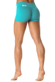 Bambola Scrunch Back V-Band Sportband Shorts - Supplex