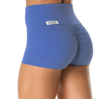 High Waist Bambola Scrunch Back Shorts - Supplex - Custom