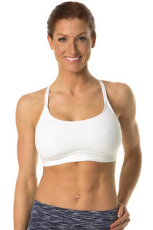 Lux Bra - WHITE - FINAL SALE