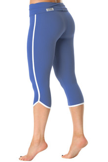 Retro Rolldown 3/4 Leggings - Supplex