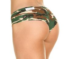 Curve Shorts - Camo