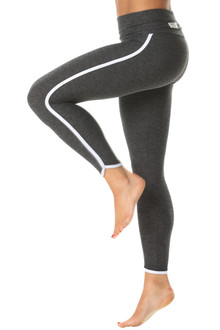 ROLLDOWN ST. TROPEZ 7/8 LENGTH LEGGINGS - BUTTER