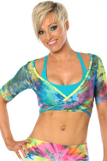 Color-foria Mesh Yoga Wrap