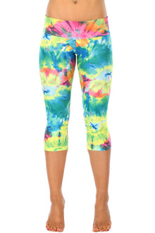 Color-foria Sport Band 3/4 Leggings
