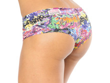 Alicia Marie - Graffiti Xtreme Shorts