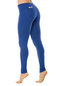 Royal STRETCH Cotton Sport Band Leggings - FINAL SALE - XS, S & M