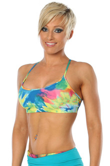 Color-foria Elba Bra w/ mesh back - FINAL SALE - XS & S (1 AVAILABLE EACH)