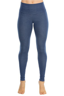 Denim Look Cotton High Waist Band Leggings - FINAL SALE - L (1 AVAILABLE)
