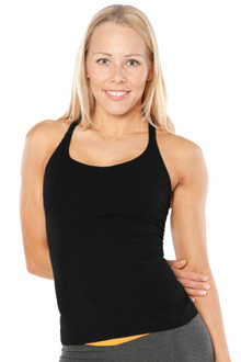 Cotton Lux Top - BLACK - FINAL SALE - S & L