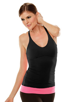 Cotton Racer Doll Top - BLACK - FINAL SALE - S, M, & L