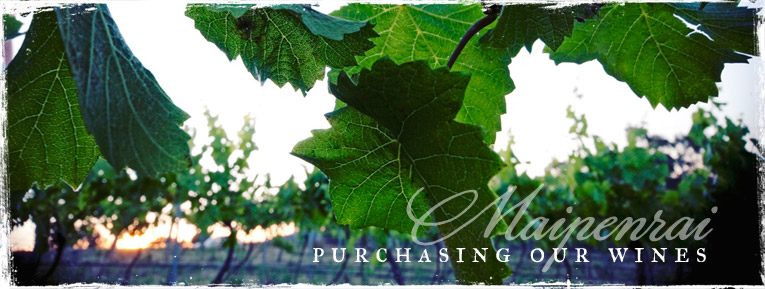 Purchase our wines
