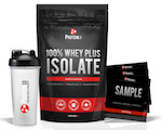 WAGJAG - 2 bags of 100% Whey Plus Isolate + Sample Pack + Shaker