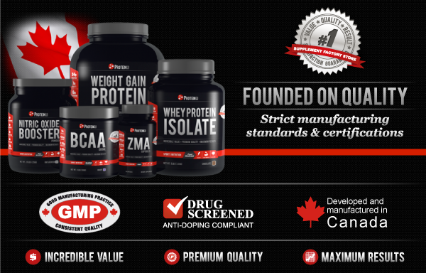 ProteinCo Premium quality supplements canada