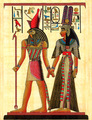 Horus and Nefertiti Papyrus