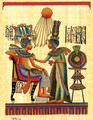 The King and his Wife Papyrus