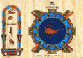Egyptian Zodiac Signs Personalized Papyrus