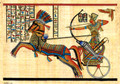 Ramses on Chariot Papyrus
