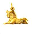 18K Gold Sphinx Pendant