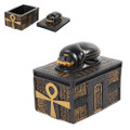 Egyptian Scarab Trinket Box
