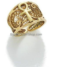 Egyptian Jewelry Gold Ring