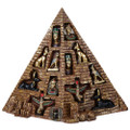 12 PC Egyptian Set w/ Pyramid display