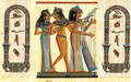 The Egyptian Musicians Personalized Papyrus