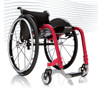 Progeo Joker Evolution. Designed for maximum resistance and lightness using materials such as titanium, ergal and carbon fibre. The result? Joker Evolution is the lightest fully adjustable rigid frame wheelchair in the market (weight from just 7.5kg).