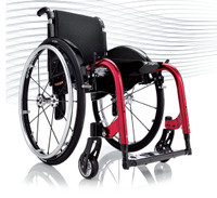 Progeo Yoga. Compact, functional and practical - and it looks stunning. The patented folding system of the Yoga wheelchair is simplicity and elegance at it's very Italian best.